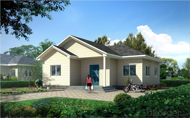 Prefabricated Light Steel Structure House of CNBM