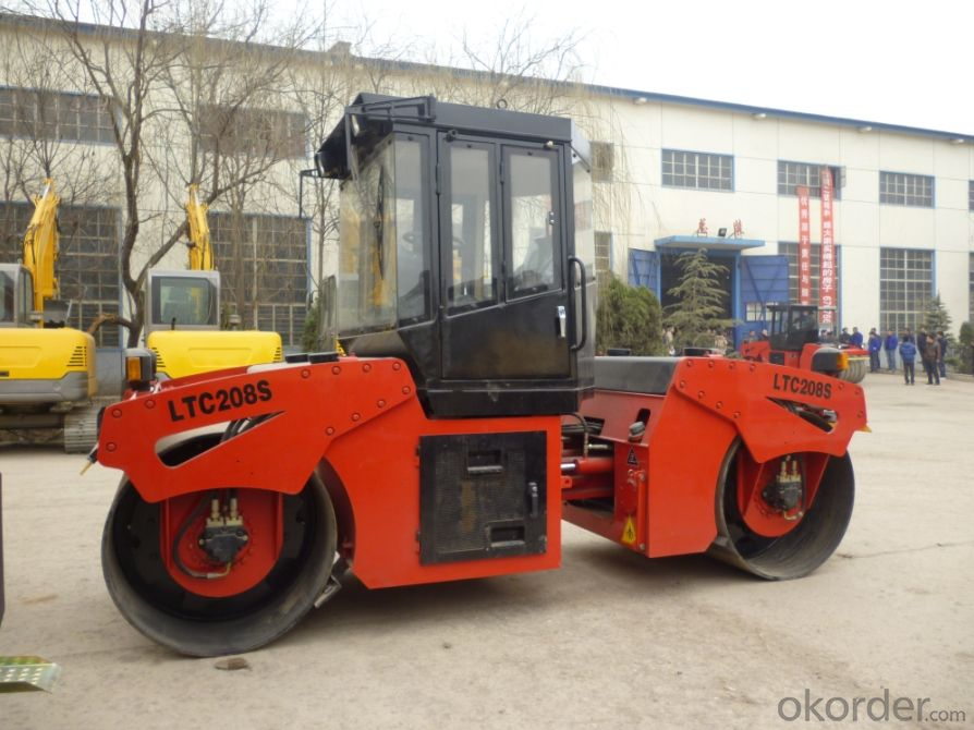 Hydraulic Double Drum Vibratory Roller LTC208