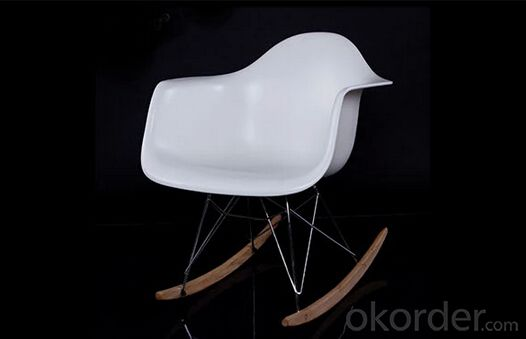 Plastic Eames Chair, Simple Design with Leisure Elements