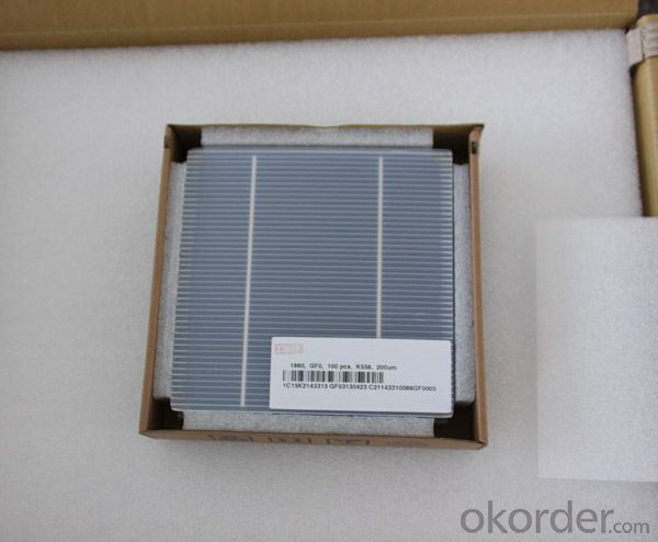 Best Price Per Watt High Efficiency 6X6 Inch Silicon Wafer for Solar Cell