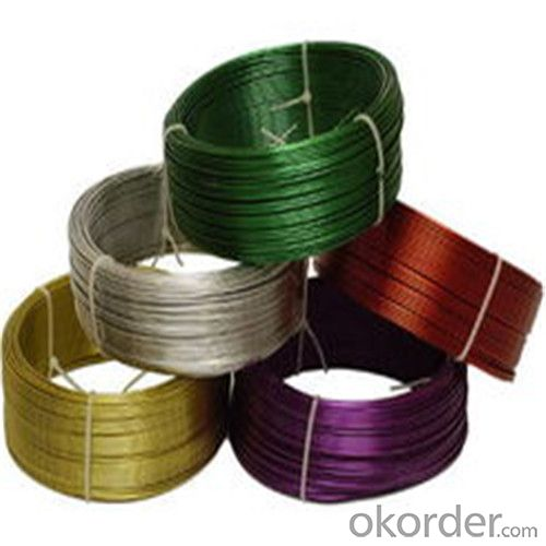 PVC Coated Wire Binding Tie wire with Good Quality and Factory Price