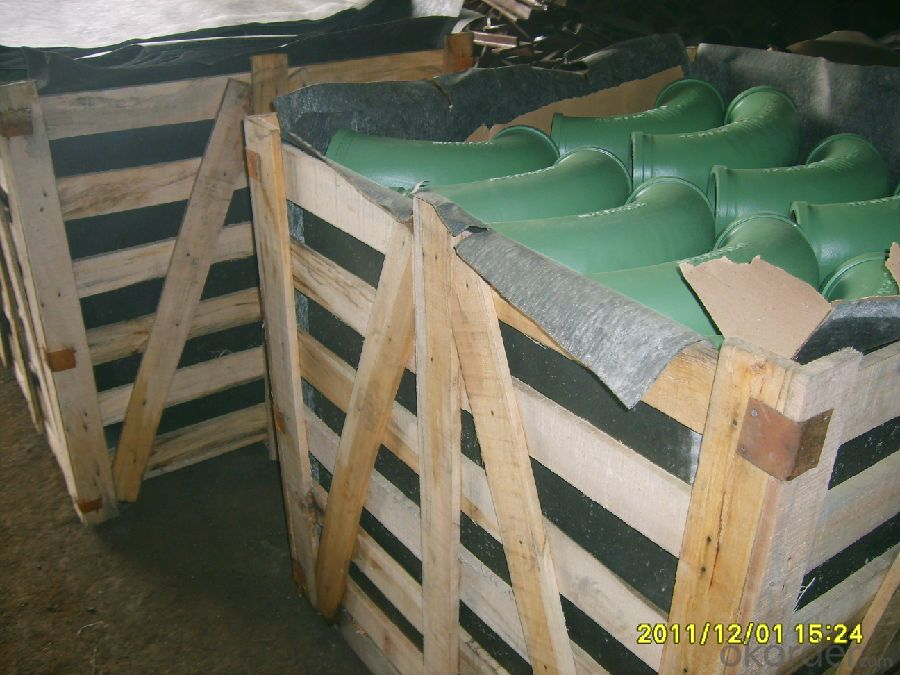 Green Concrete Pump ELBOW R275, 45DGR DN125MM  with High Quality
