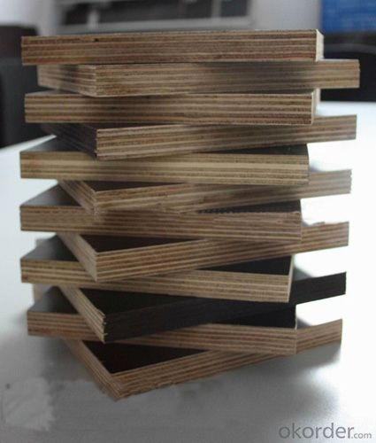 Brown or Black Film Faced Plywood with High Quality