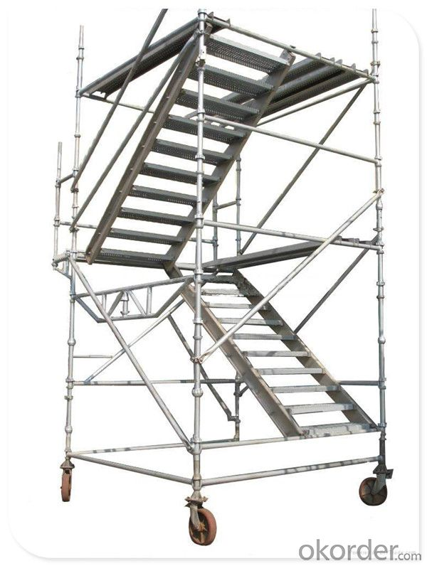 Steel Galvanized Cup Lock Scaffolding System with Factory Price  for Sale CNBM