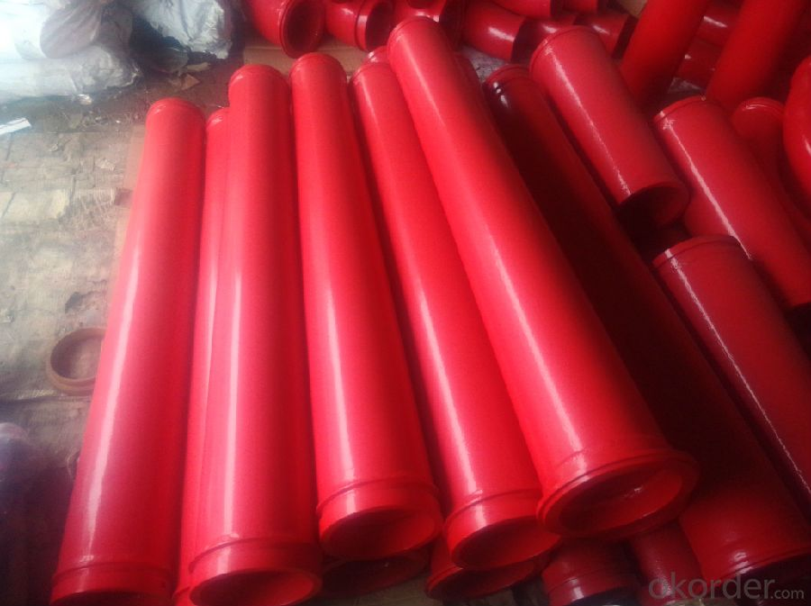 Concrete Pump Reducer Pipe Red with Good Quality
