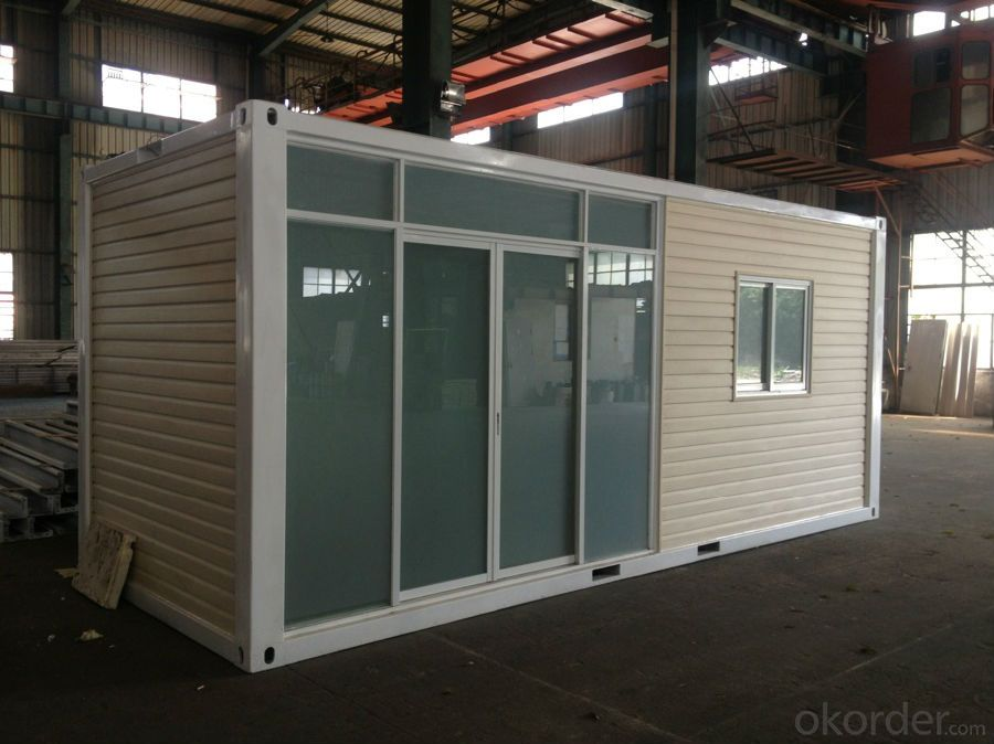 Container Houses Luxury Designs EPS/Rock Wool/Glass Wool/PU Heat Insulation