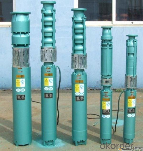 QJ Vertical Deep Well Submersible Centrifugal Water Pump