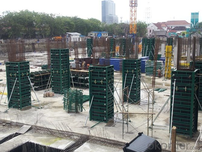 Steel Frame Formwork GK120 for High-rise Building and Land Marking Projects