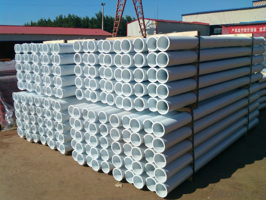CONCRETE PUMP DELIVERY PIPE WITH 175 Male and female Fange