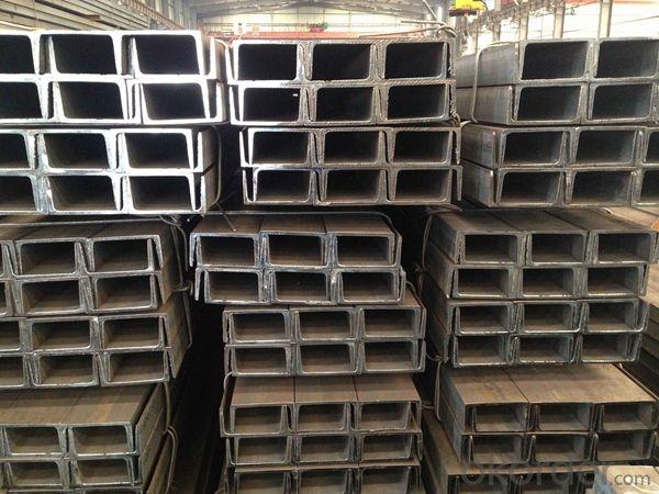 Hot Rolled MS Mild JIS Steel U Channels for Strcutures