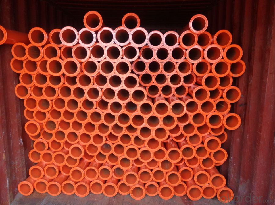 Concrete Pump Delivery Pipe  with SCHWING Flange