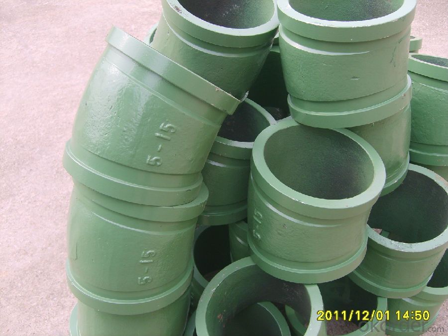 Concrete Pump ELBOW  R275, DGR 90 DN100 with High Quality