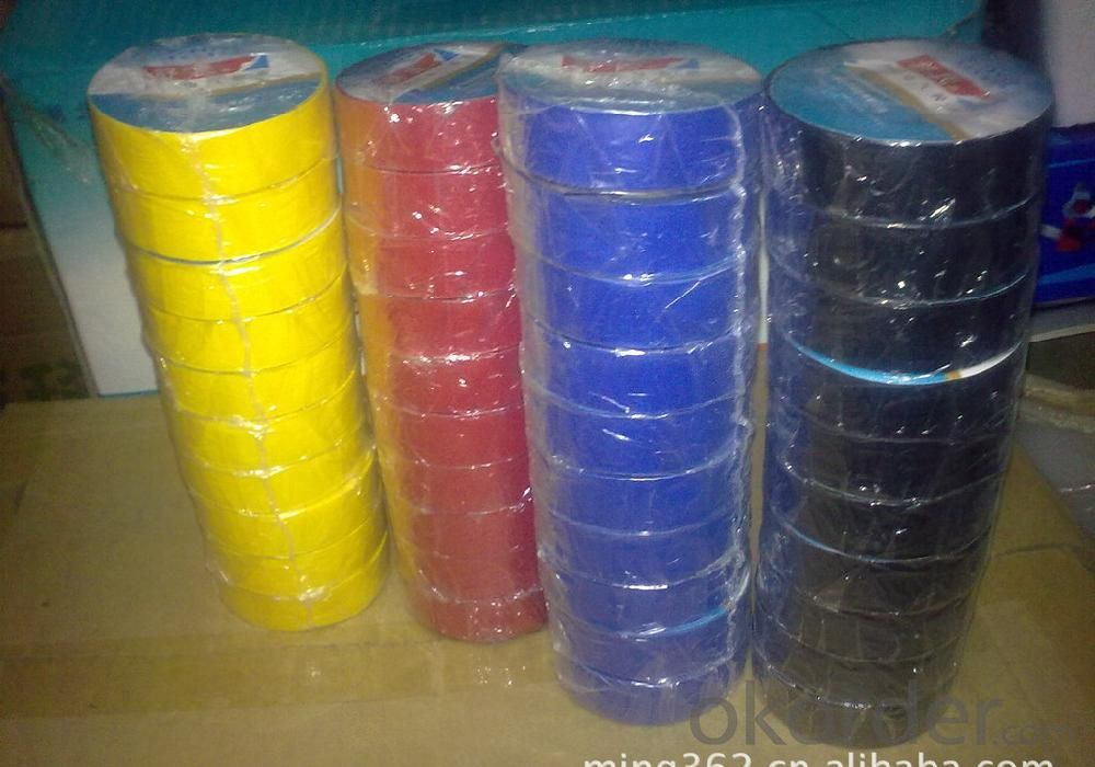 PVC Electrical Insulation Tape Water Proof Colored