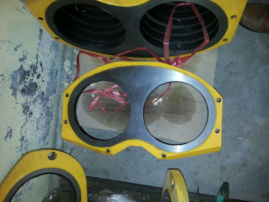 CIFA Spectacle Plate and Wear Ring DN200