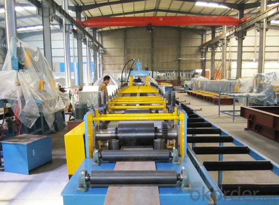 Rolling Shutter Steel Profiles Cold Roll Forming Machine