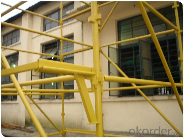 Metal Kwikstage Scaffold System for Building Construction Project CNBM