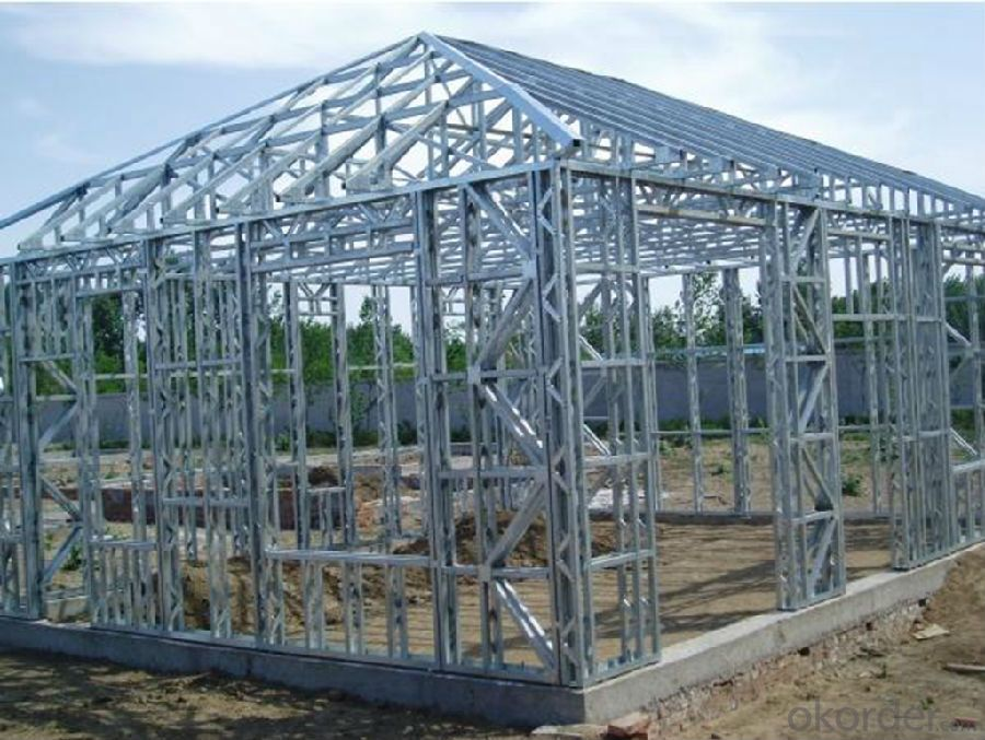 Prefabricated Buildings Steel Frame Thermal Insulation Materials Made In China