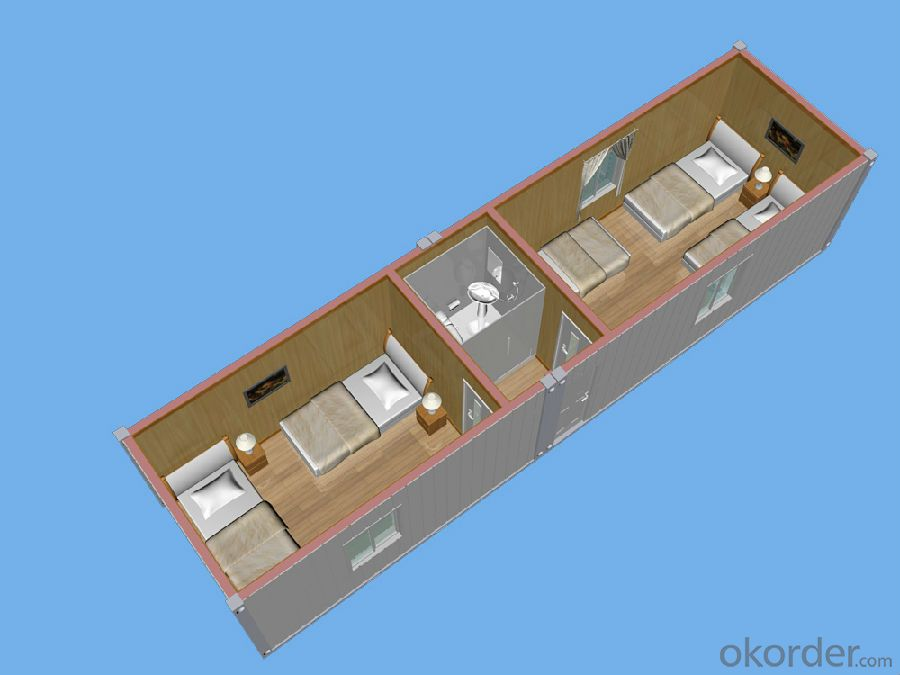 Container House;Low-cost Office Made In China