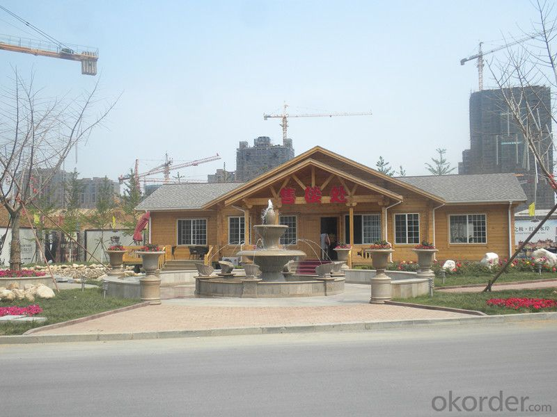 Prefabricated Wooden House Made in China