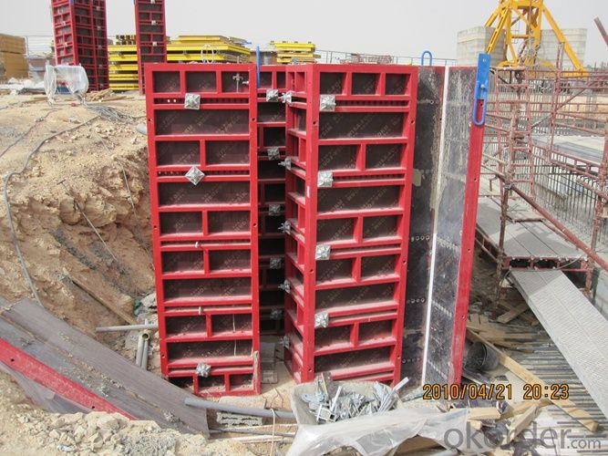 Steel Frame Formwork GK120 with Qualified Materials for High-rise Buildings