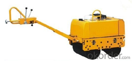Mini Double Drum Hydraulic Vibratory Roller JY600D-3
