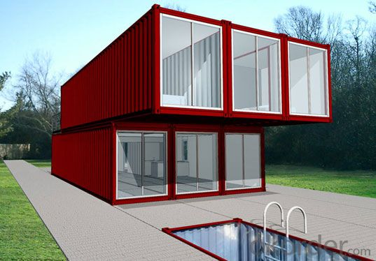 Mobile Container House or Home Made in China