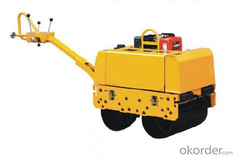 Mini Double Drum Hydraulic Vibratory Roller JY600D-1