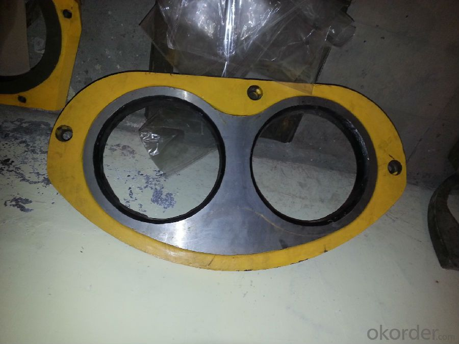 CIFA  DN230 Spectacle Wear Plate and Cutting Ring