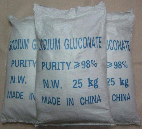 Food grade SODIUM GLUCONATE Manufactured By CNBM China