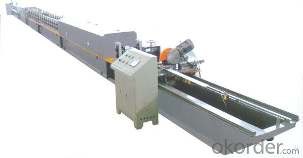 Rolling Shutter Steel Profile Cold Roll Forming Machine