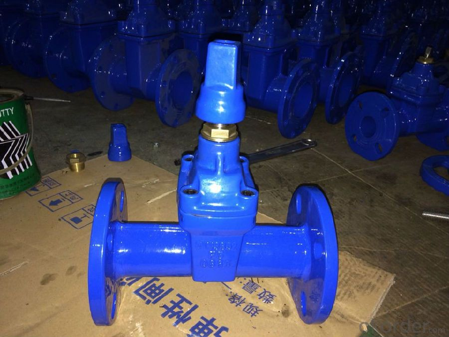 Ductile Iron Gate Valve Non-Rising Stem of DIN3352 F4