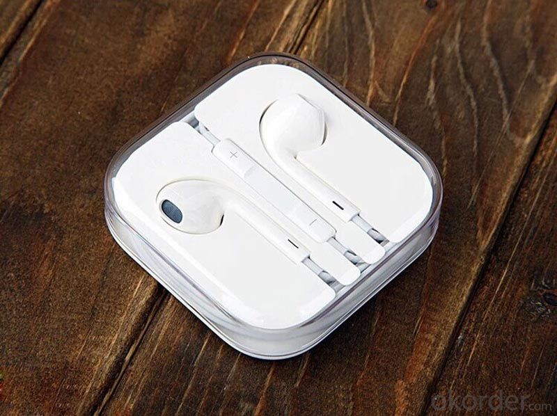 Promotional Mobile Earphone in-Ear iPhone Earphone for iPhone 5s