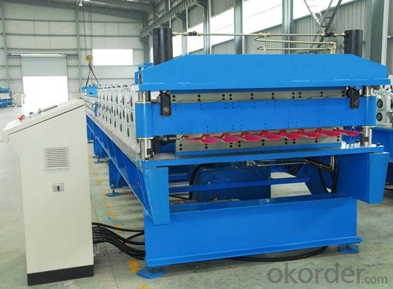 Metal Roof Profiles Cold Roll Forming Machine
