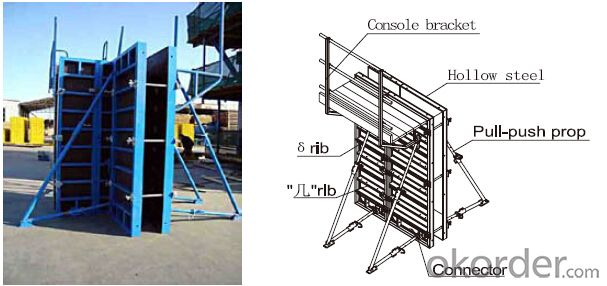 Steel Frame Formwork GK120 with Favorable Prices for High-rise Buildings