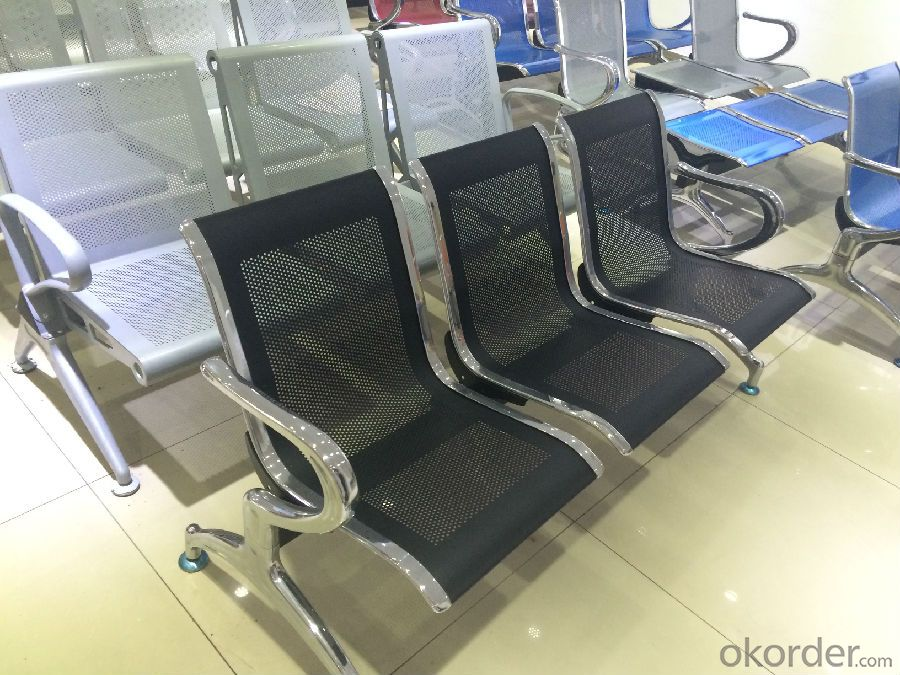KXF- PU Cushion Covered Waiting Chair for Airport and Hospital