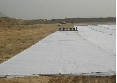Thermal bonded Nonwoven geotextile PP/PET Non woven Geotextile