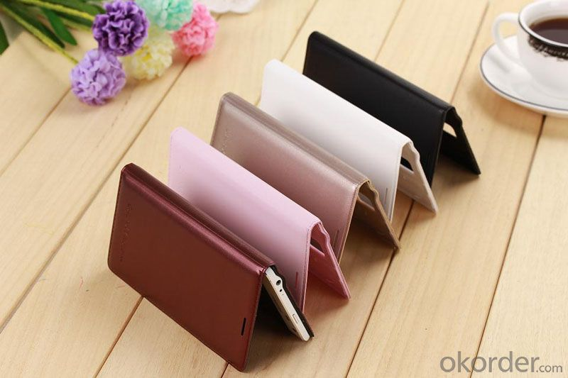 Cheap Leather PU Phone Case for Samsung Galaxy Note4