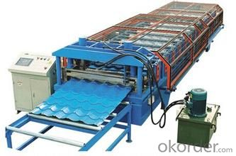 Glazed Tile Profiles Cold Roll Forming Machine