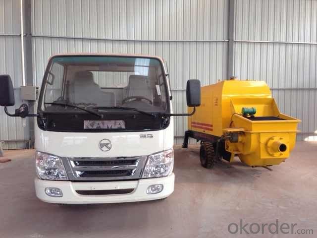 Truck Mounted Fine Aggregate Concrete Pump XBS30-12-45