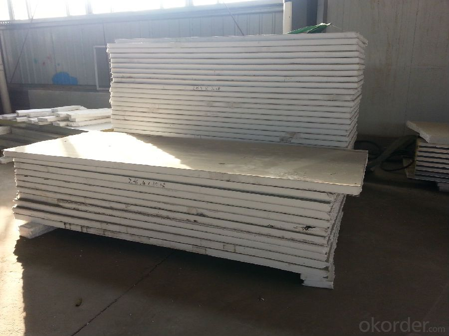 Prefabricated Steel Frame Structure Sandwich Panel House with Energy Saving and Modern Design