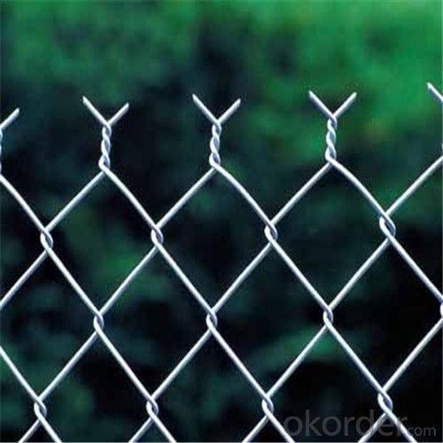 Chainlink Wire Mesh Galvanized or PVC Fence Chainlink Netting Factory Pirce