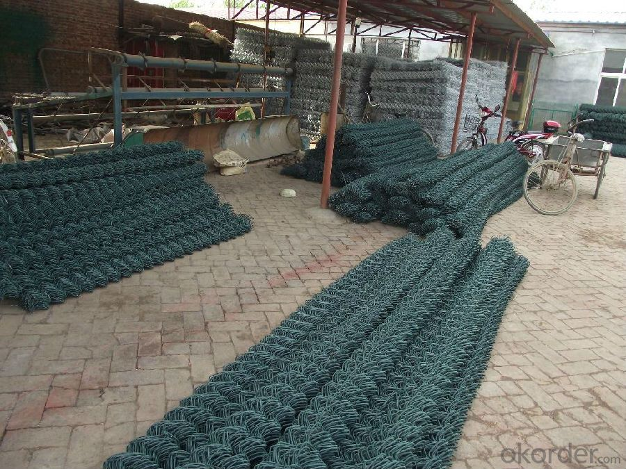 Chain Link Wire Mesh Fence with High Quality and Low Price