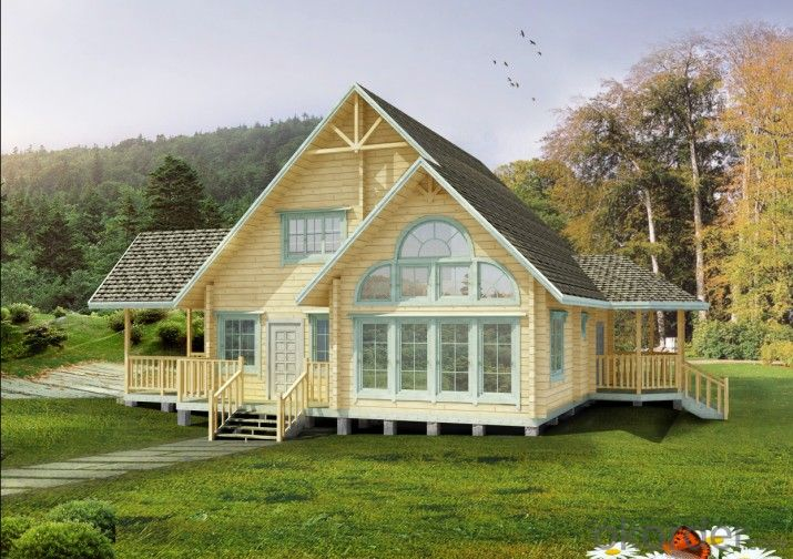 Wooden House Made in China with Good Quality