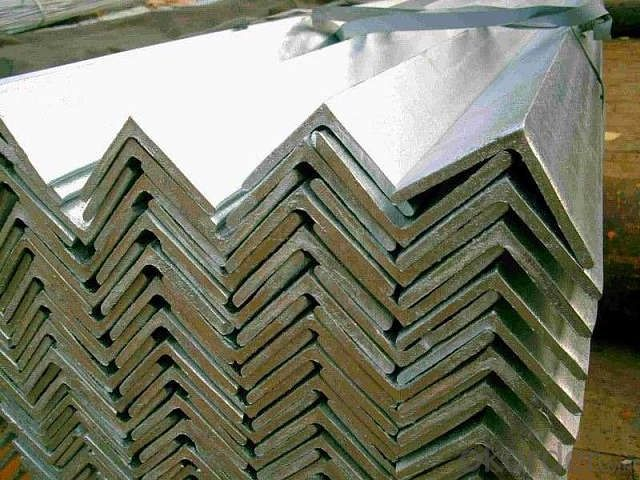 SS400 galvanized angle steel for construction