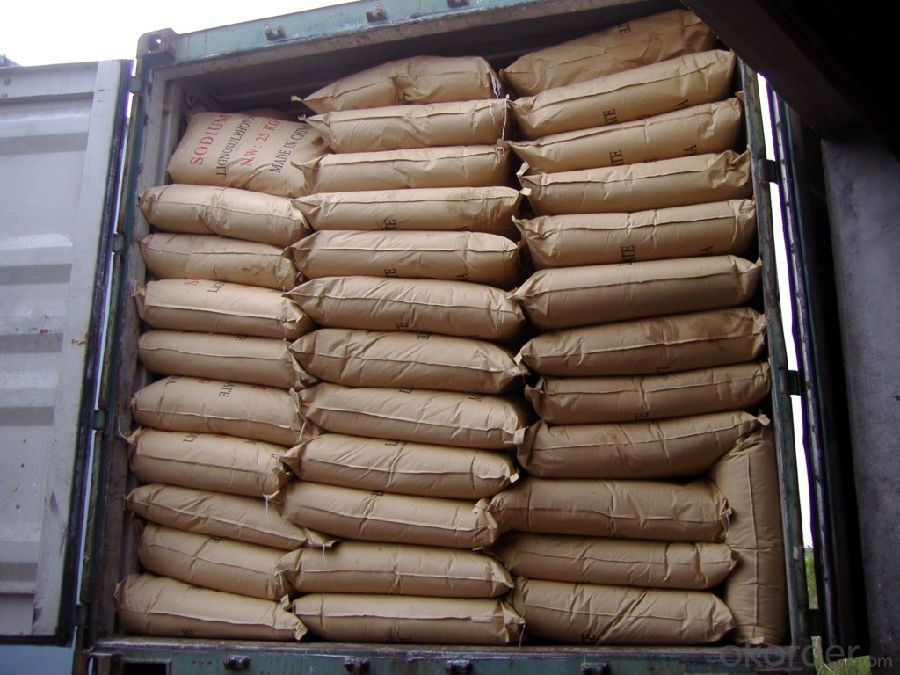 Sodium Lignosulphonate Powder Concrete Chemicals