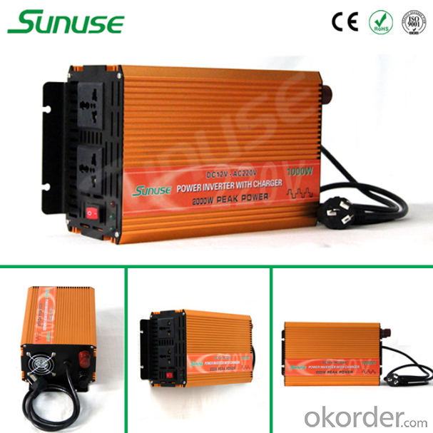 1000W Home Ups Inverter, Inverter 12V 220V 1000W with Ups Function