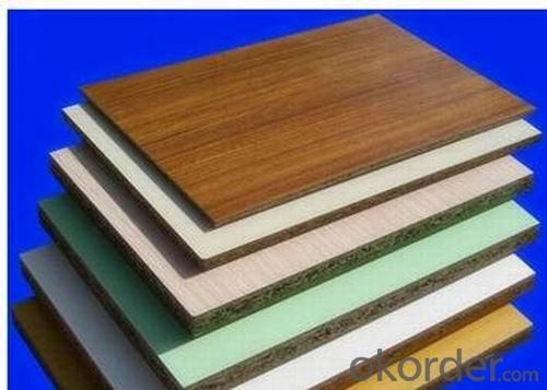 18mm Melamine Chipboard Melamine Faced Particle Boards
