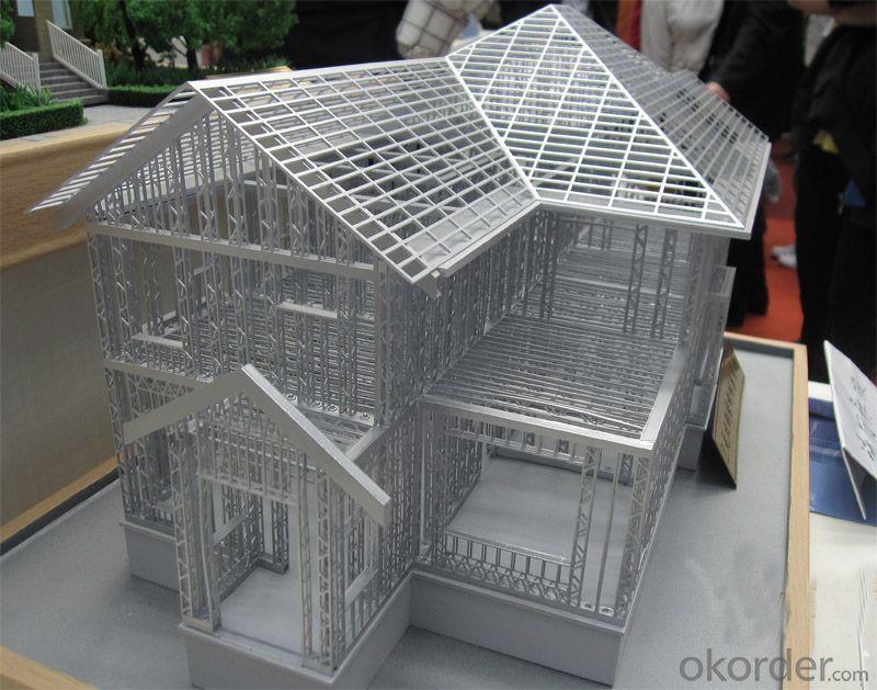 Light Steel Sturcture Prefabricated Villa House
