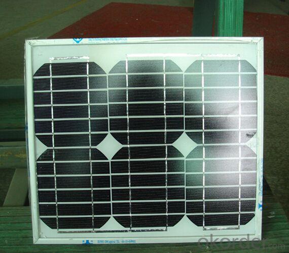 Monocrystalline Silicon Solar Module Type CR015M