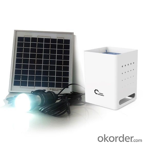 Portable DC Solar Generater, Solar Power with Lithium-ion Batteries